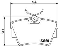 BREMBO - P 59 041 FIAT-NISSAN-OPEL-RENAULT